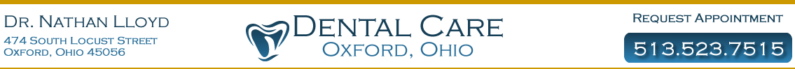 Dr. Nathan Lloyd Dentist Oxford OH